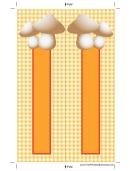 Marshmallow Boomark