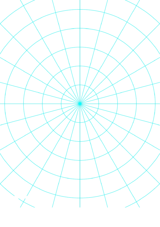 Polar Graph Paper Printable pdf