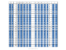 Breadboard Template - Horizontal Squares