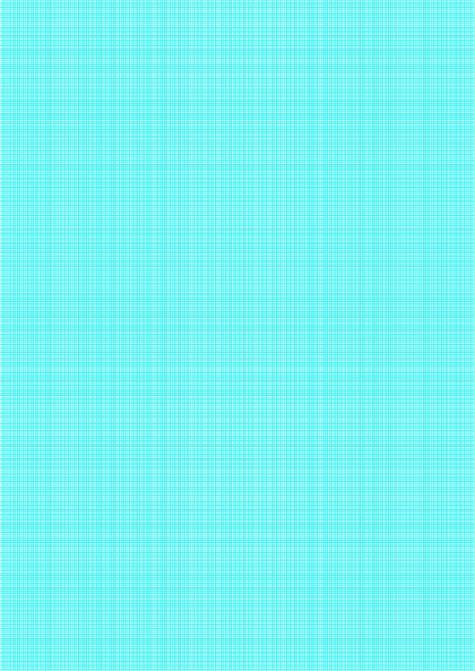 Graph Paper With One Line Per Millimeter (Blue On White) Printable pdf