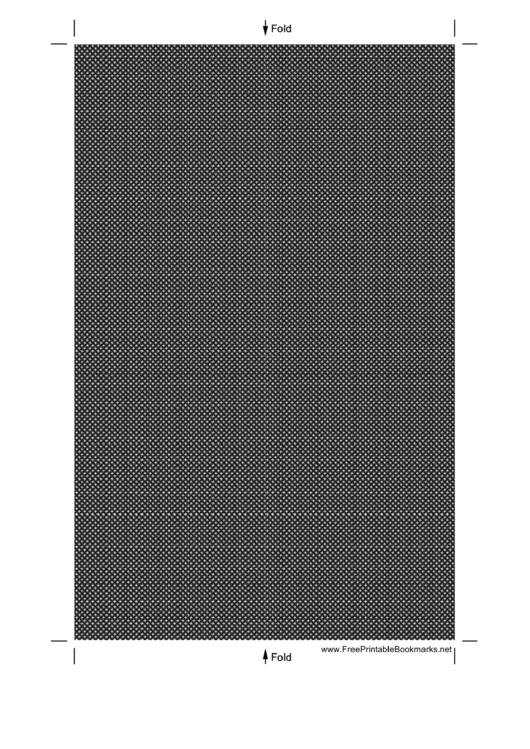 Black And White Bookmark Template Printable pdf