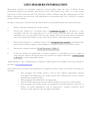 Hold Harmless Affidavit