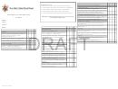 Student Report Card Draft - Kindergarten Grade