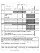 Foia Cost Estimate Worksheet
