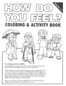 How Do You Feel - Coloring And Activity Book