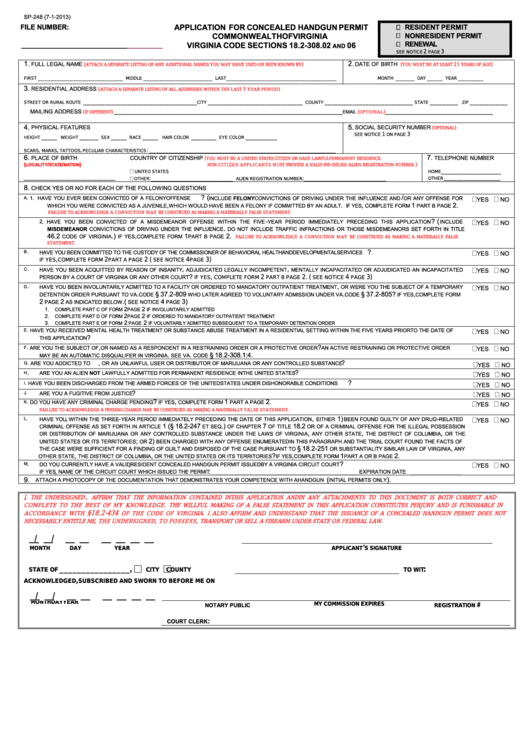 page_1_thumb_big Oklahoma Concealed Carry Application Form To Print Out on