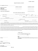 Florida Form 4 - Request For Final Payment