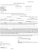 Florida Form 3 - Request For Progress Payment