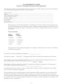 Standard Individual Telework Agreement Form - U.s. Department Of Labor