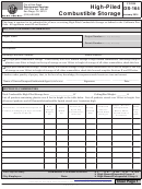 Form Ds-164 - High-piled Combustible Storage - City Of San Diego Development Services