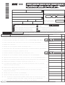 Form Nyc-202 - Unincorporated Business Tax Return For Individuals And Single-member Llcs - 2016