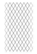 Diamond Trapezoid Graph Paper