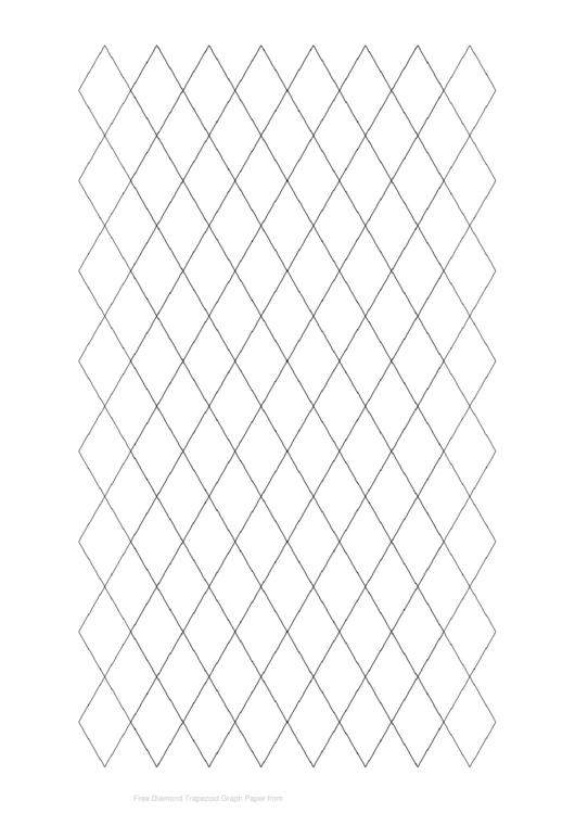Diamond Trapezoid Graph Paper