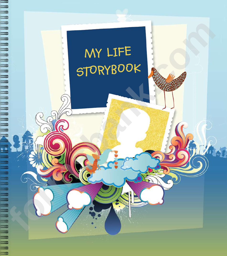 my life story book template printable pdf download