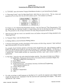 Instructions For Form 600 - Sales Tax Return - Navajo Tax Commission