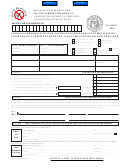 Form Ga-8453c - Georgia Corporate Income Tax Declaration For Electronic Filing - Summary Of Agreement Between Taxpayer And Ero Or Paid Prepayer - 2016