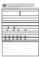 Unhcr Vendor Registration Form