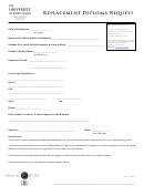 Replacement Diploma Request