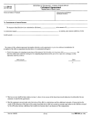 Form 2261-b - Collateral Agreement