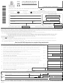 Form Nyc-202ez - Unincorporated Business Tax Return For Individuals - 2003