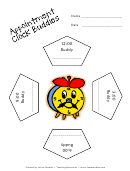 Appointment Clock Buddies - Template