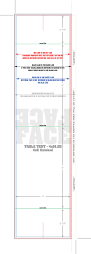 Table Top Tent Card Template