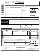 Form Cr-q - Commercial Rent Tax Return - 2004/05
