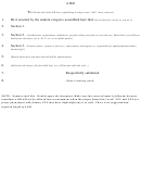 Bill And Resolution Templates