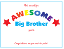 Big Sibling Awards Template