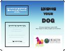 Kent County Dog License Application