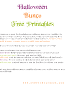 Bunco Card Templates