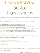 Bunco Cards Templates
