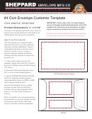 Coin Envelope Template - 3