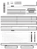 Form Nyc 245 - Activities Report Of Corporations - 2007