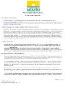 Form Dh-mqa 1128 - Application For Licensure As Certified Optometrist