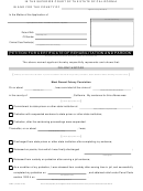 Form 1 - Petition For Certificate Of Rehabilitation And Pardon