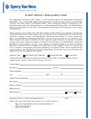 Direct Deposit Enrollment Form