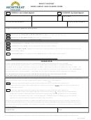 Enrollment And Change Form