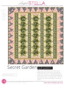 Secret Garden Pattern Templates