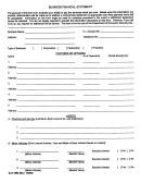 Form Djt-1853 - Business Financial Statement Form