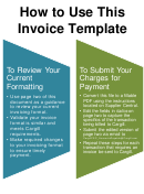 How To Use This Invoice Template