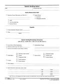 Form 3198 - Special Handling Notice