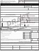 Form Mo-7004 Draft - Application For Extension Of Time To File