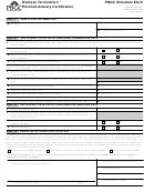Pbgc Schedule Ea-d (pbgc Form 601) - Distress Termination Enrolled Actuary Certification