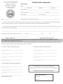 Notary Public Application / Criminal Record Release Authorization Form