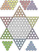 Chinese Checkers Game Template