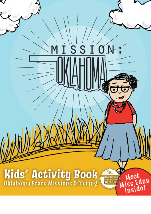 Kids' Activity Book - Mission Oklahoma