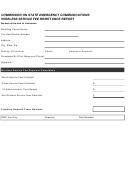 Wireless Service Fee Remittance Report Form - Commission On State Emergency Communications