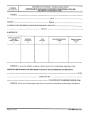 Form 669-a - Certificate Of Discharge Of Property Form Federal Tax Lien