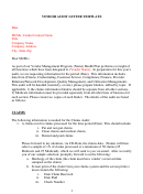Vendor Audit Letter Template